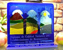 Premio de calidad turística en Asturias 2007