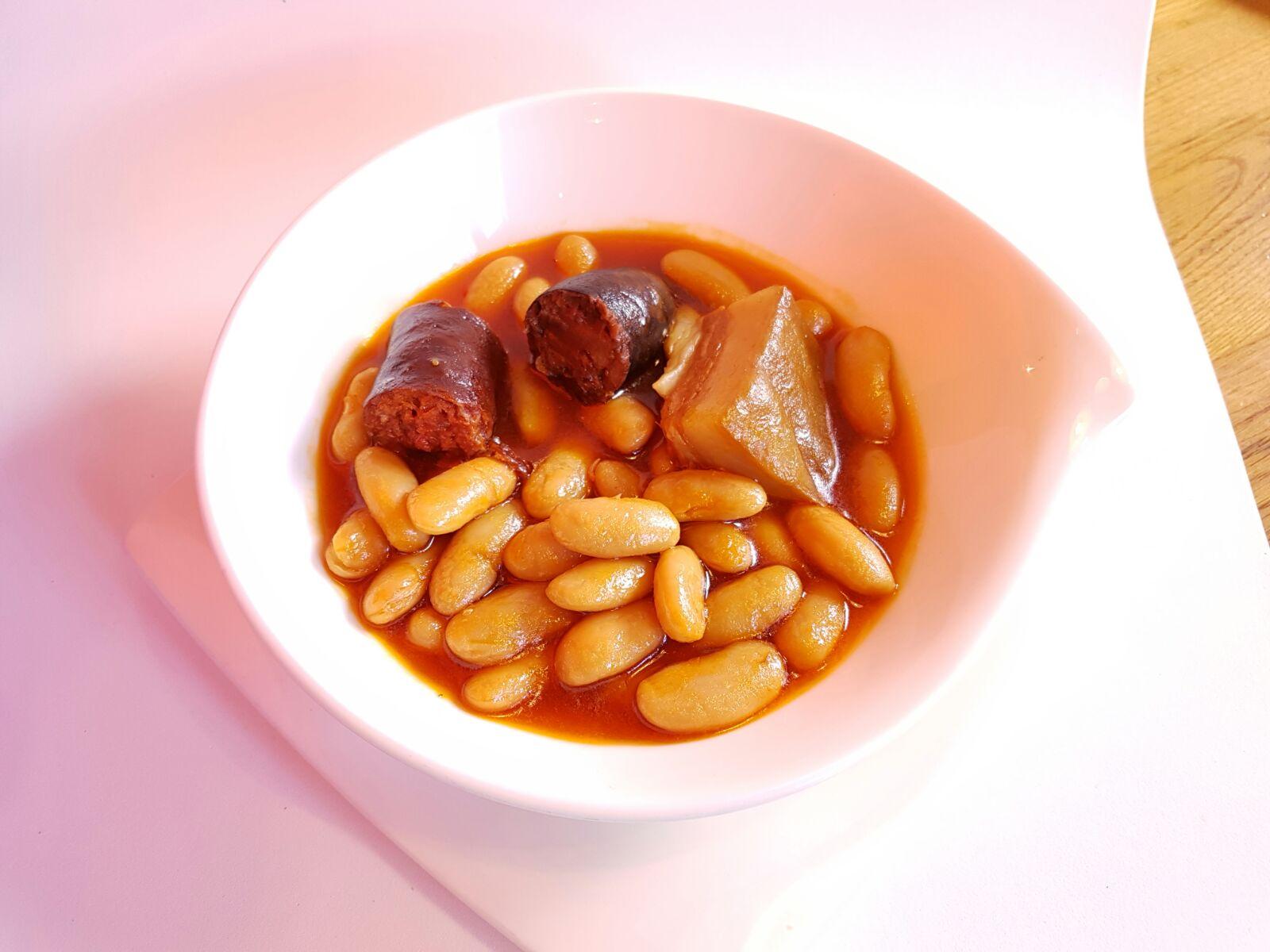 Tapa de fabada asturiana